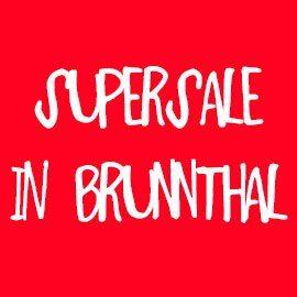 Wir schließen in Brunnthal – mit einem SUPSERSALE!
